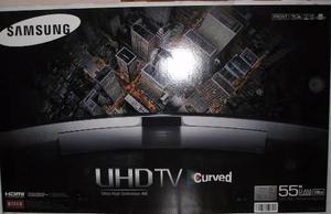 Smart tv samsung uhdtv curved 55 pulgadas 4k 4 lentes 3d