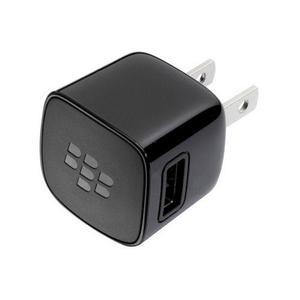 Cargador de pared blackberry original, cable microusb + cubo