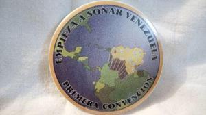 Chapa De La Primera Convencion De Amway En Venezuela