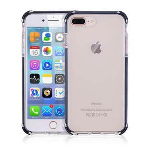 9dbd3940b72 Forro antigolpe iphone 8 plus, iphone 7 plus, borde negro