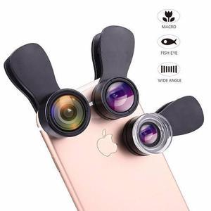 Kit de lente de cámara para iphone 7 / 6s / 6+ y ipad