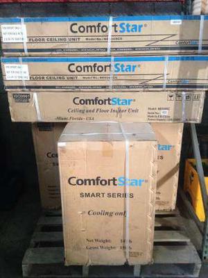 Aire acondicionado 36000 btu 3 ton comfortstar piso techo