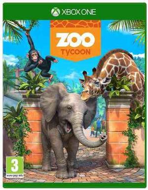 Zoo tycoon xbox one usado