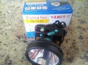 Linterna yani 7122 extra luz recargable minero remat oferta