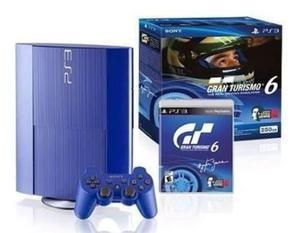 Ps3 playstation3 super slim nuevo 250gb edicion especial gt6