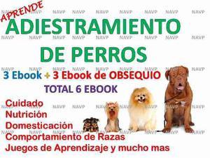 Aprende adiestramiento canino cesar millan pack de 6 ebook