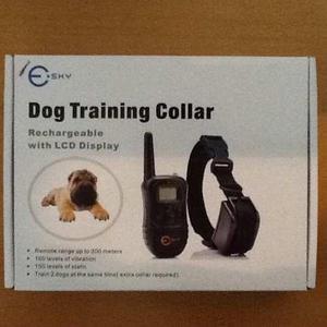 Collar de entrenamiento para perros marca sky