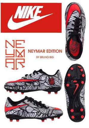 Nike neymar tacos guayos zapatos futbol niños talla 33