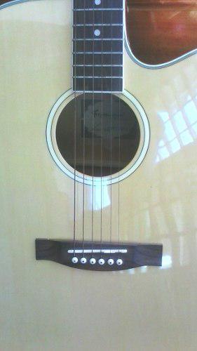 Guitarra electroacustica fretmaster series k + amplificador
