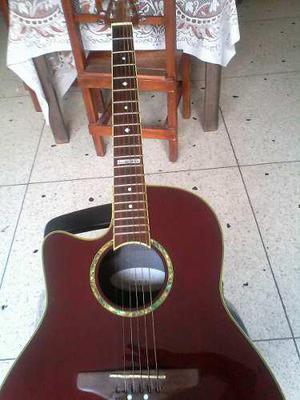 Guitarra electroacustica ovation para zurdo celebrity 147