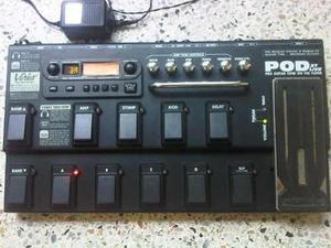 Pedalera multiefectos guitarra electrica line 6 pod xt live