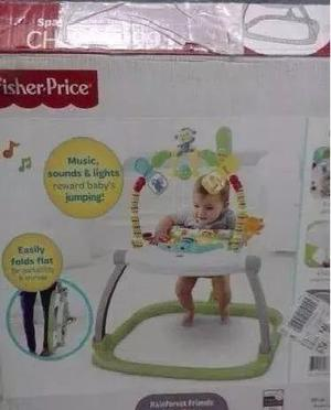 Brinca-brinca jumpero fisher price como nuevo