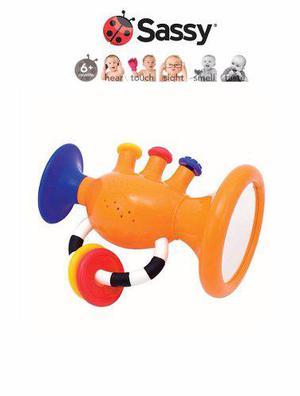 Juguete para bebés de trompeta