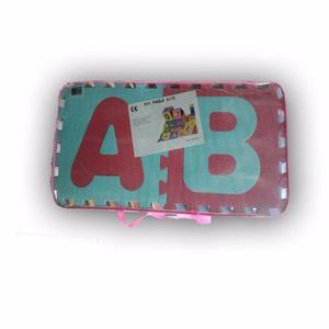 Piso de foami didactico para niños abecedario