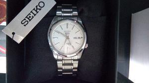 new concept 2eb06 3fefe Reloj Seiko 5, Modelo Snkl41k1, Automático Nuevo Original