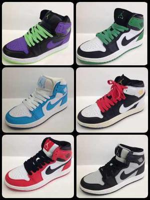 Zapatos botas nike air jordan retro 1 talla 40 al 46
