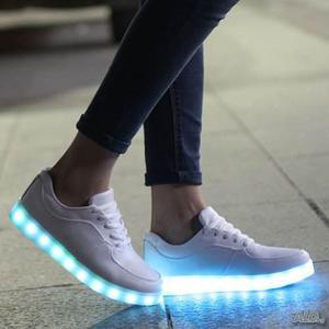 Zapatos Con Luces Led Niñas Niños Envío Gratis