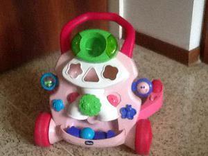 Andadera bebes niña chicco interactiva