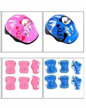 Casco y kit de proteccion para niños ofertas