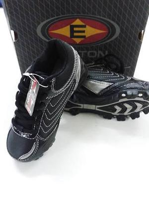 Zapatos deportivos beisbol marca easton negro ref. b24289