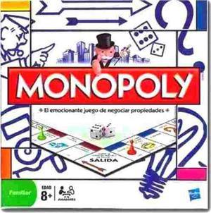 Juego de mesa modular monopolio monopoly de hasbro.
