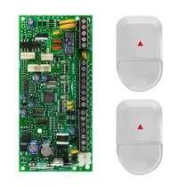 Central alarma sp4000 4 zonas + 2 sensor nv5 + teclado k636
