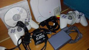Playstation 1 para repuesto con accesorios y juegos