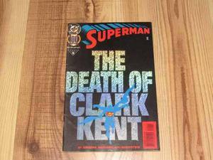 D c comics superman the death of clark kent