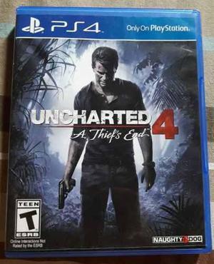 Playstation 4 ps4 juego uncharted 4.