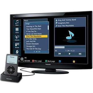 Tv panasonic de 32 con ipod dock monitor lcd 32 como nuev