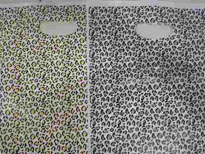 Bolsas plásticas boutique 30x40 animal print (100)unid