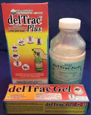 Combo Deltrac Plus 630 Ml + Gel 30g + Forfe 500g