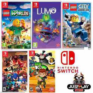Juegos Nintendo Switch Fisico Original Nuevo Tienda Chacao En