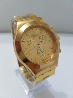 da9f3120d025 Reloj swatch dorado acero borde acrilico en Venezuela   REBAJAS ...