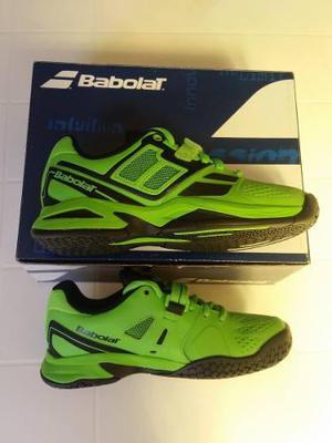 Zapatos tenis babolat para niños talla 31 (13,5) * nuevos *