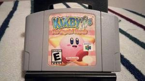 Juego Nintendo 64 Kirby 64 The Crystal Shards Impecable En