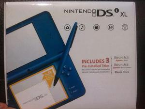 Nintendo portatil ds xl nuevos tres juegos pre instalados