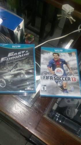 Nintendo wii u,sellado rapid and furios