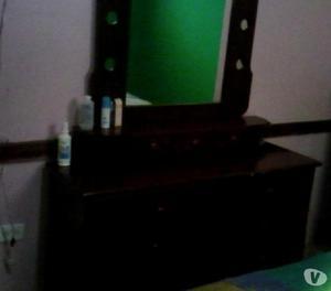 Juego de cuarto queen+peinadora+mesas de noche