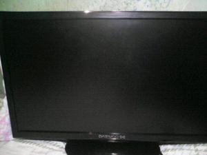 Televisor monitor 24 pulgadas daewoo led como nuevo