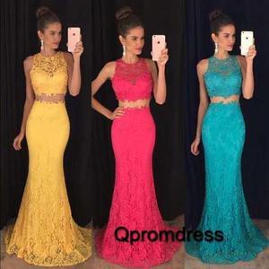 promoción vívido y de gran estilo genuino mejor calificado Vestidos Gala Largo Moda Blonda Matrimonio Fiesta