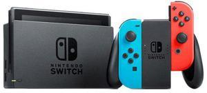 Consola nintendo switch neon red and blue nuevo en su caja