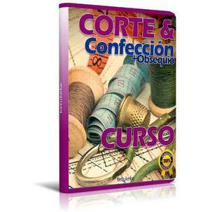 Curso corte costura y confección patrones 61 libros + bono
