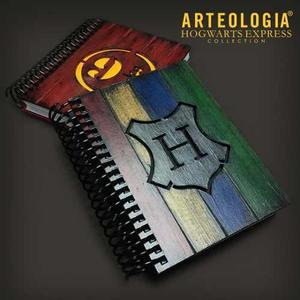 Agendas Libretas Harry Potter Cuadernos De Dibujo Madera