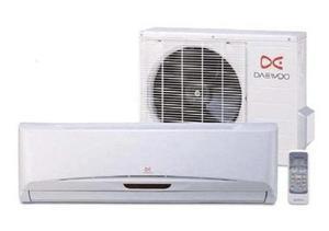 Aire acondicionado split 12000btu daewoo kit de instalación