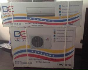 Aire acondicionado split 18000 btu digital electric