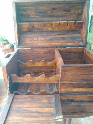 Bar licorero madera saman nuevo