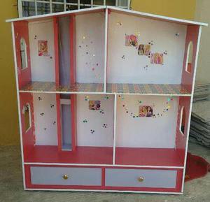 Casas muñecas con accesorios entrega inmediata