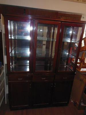 Ceibo de cedro con espejo (madera pura) precio negociable!
