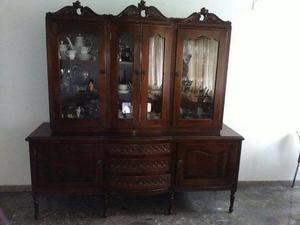 Ceibo vitrina luis xv (madera de caoba)